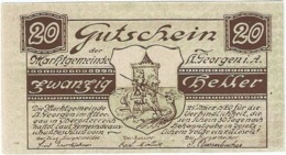 Austria (NOTGELD) 20 Heller Sankt Georgen  Kon-fs 888 I.a.2  UNC Ref 3635-1 - Austria