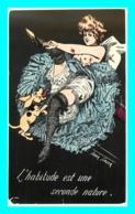 A744 / 079  Illustrateur Xavier SAGER ( Femme - Pin Up ) Carte Moderne - Illustrators & Photographers