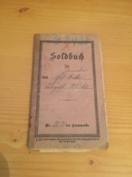 Soldbuch Allemand Ww1 Militaria 14-18 1918 - 1914-18
