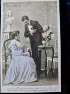 CARTE POSTALE _ CPA VINTAGE : COUPLE _ ROMANCE _ AMOUR _ 1916     // CPA.FTS.276.13.S1 - Couples