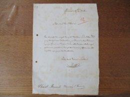 FOURMIES LE 25 8bre 1848 COURRIER DE CHRIST RAYMOND PHARMACIEN A FOURMIES A MONSIEUR LE MAIRE AU SUJET DU JURY - Manuscrits
