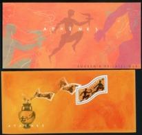 Bloc Souvenir N°2 / Jeux Olympiques D'Athènes / Avec Carton De Protection Illustré D'origine / ** MNH. TB - Souvenir Blocks & Sheetlets