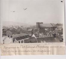 MANOEUVRES DE L'EST VEDRINES LEGAGNEUX A BELFORT CONCENTRATION AEROPLANE 18*13CM Maurice-Louis BRANGER PARÍS (1874-1950) - Aviación