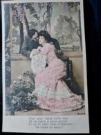 CARTE POSTALE _ CPA VINTAGE : Fantaisie _ COUPLE _ ROMANCE _ AMOUR     // CPA.FTS.276.13.S1 - Couples