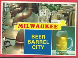 CPM  -  Milwaukee , Wisconsin - The Beer Barrel City   ( Bière ) - Autres