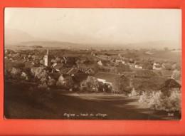 MTV-18 Agiez Haut Du Village. Près De Orbe. Jura Vaudois. Perrochet-Matile Cachet 1926 Vers Sarzens - VD Vaud