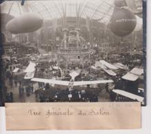 SALON AVIATION VUE GENERALE   18*13CM Maurice-Louis BRANGER PARÍS (1874-1950) - Aviación