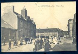 Cpa Du 22  Matignon Mairie Et Place                  Canton Pleneuf   LZ110 - Pléneuf-Val-André