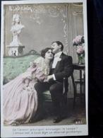 CARTE POSTALE _ CPA VINTAGE : CPA B.C.I N°513 _ COUPLE _ ROMANCE _ AMOUR _ Fantaisie   // CPA.FTS.276.13.S1 - Couples