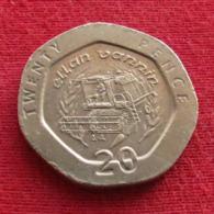 Isle Of Man 20 Pence 1995 AA KM# 391  Ile De Man Isla De Man Isola Di Man - Regionale Währungen