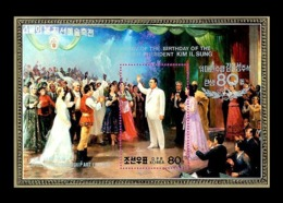 North Korea 1992 Mih. 3284 (Bl.270) Kim Il Sung Among The Participants In April Spring Friendship Art Festival MNH ** - Corée Du Nord