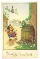 206 - Joyeuses Pâques - Poussin- Grenouilles - Hanneton - Pasen