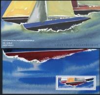Bloc Souvenir N°23 / FEDERATION INTERNATIONALE DE VOILE / Avec Carton De Protection Illustré D'origine / ** MNH. TB - Souvenir Blocks & Sheetlets