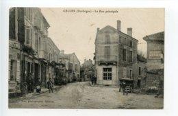 Celles La Rue Principale - France