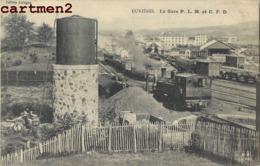 DUNIERES GARE P.L.M. ET C.F.D.  43 - Francia