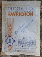 Favrichon -  Céréales Granulées En Sachet - Scatole
