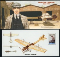 2010 BLOC SOUVENIR N°50 / PIONNIERS DE L'AVIATION / HUBERT LATHAM 1883-1912 / ** MNH. TB - Souvenir Blocks & Sheetlets
