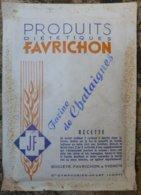 Favrichon -  Farine De Chataignes En Sachet - Scatole