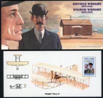 2010 BLOC SOUVENIR N°51 / PIONNIERS DE L'AVIATION / Orville Wright & Wilburg Wright / ** MNH. TB - Souvenir Blocks & Sheetlets