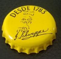 Portugal Capsule Crown Cap Schweppes Tonic Depuis 1783 - Limonade