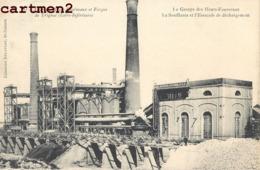 TRIGNAC ACIERIES, HAUTS-FOURNEAUX ET FORGES LA SOUFFLANTE ET L'ESTACADE DE DECHARGEMENT 44 - France