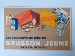 BRUSSON JEUNE VILLEMUR (Haute Garonne) - Publicité
