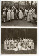 Périgueux Lot 2 Photos 11x15,5 Cm Ecole Normale D'institutrices (promotion 1919-1922 ?) - Périgueux