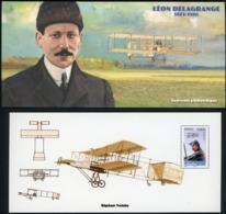 2010 BLOC SOUVENIR N°54 / PIONNIERS DE L'AVIATION / LEON DELAGRANGE 1872 - 1910 / ** MNH. TB - Souvenir Blocks & Sheetlets