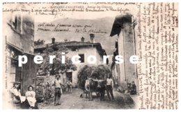 38  Saint Pierre D'Allevard  Retour Des Champs - Autres Communes