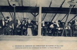1909 FRANCIA - NANTES, T.P. SIN CIRCULAR , CONCOURS DE GYMNASTIQUE , FED. SPORTIVE DES PATRONAGES, LA TRIBUNE OFFICIELLE - Gimnasia