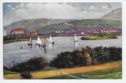 Mooragh Lake, Ramsey - Tuck Oilette 1779 - Isle Of Man