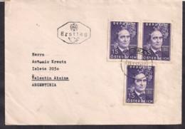 Österreich - 1962 - Brief - Argentinien - 1945-.... 2ème République