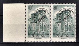 ** MONACO 1943 / 1951 - PAIRE / N° 2 -  NEUFS** - Préoblitérés