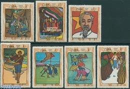 Cuba 1970 Ho Chi Minh 7v, (Mint NH), History - Politicians - Various - Agriculture - Nuovi