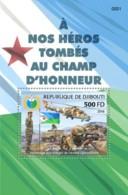 Djibouti 2018  Djibouti Army , National Flag Of Djibouti  S201810 - Gibuti (1977-...)