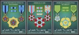Djibouti 2018  Djibouti Medals S201810 - Djibouti (1977-...)