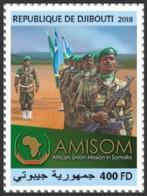 Djibouti 2018 African Union Mission In Somalia  S201810 - Djibouti (1977-...)
