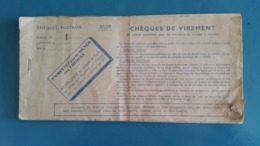 Chequier - Cheques & Traverler's Cheques