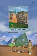 Djibouti 2018 African Union Mission In Somalia,   MS S201810 - Djibouti (1977-...)
