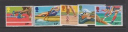 Great Britain SG 1328-1332 1986 XIII Commonwealth Games ,mint Never Hinged - 1952-.... (Elizabeth II)