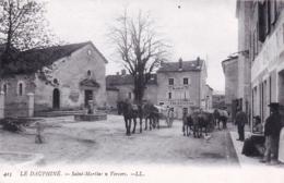 26 - Drome - SAINT MARTIN En VERCORS - La Place De La Mairie - Fontaine - Frankreich