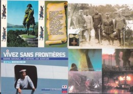 Militaria (01) -- Lot De 80 Cartes - Non Classificati