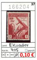 Ekuador - Ecuador - Michel 405  - Oo Oblit. Used Gebruikt - - Equateur
