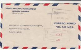 Nicaragua / Airmail / U.S. - Nicaragua