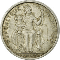 Monnaie, French Polynesia, 2 Francs, 1965, TB+, Aluminium, KM:3 - French Polynesia