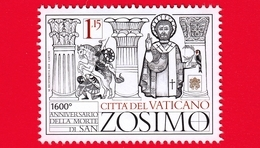 Nuovo - MNH - VATICANO - 2018 - I Papi Santi - Papa San Zosimo - 1.15 - Nuevos