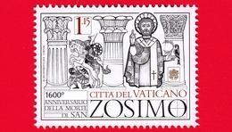 Nuovo - MNH - VATICANO - 2018 - I Papi Santi - Papa San Zosimo - 1.15 - Vaticano (Ciudad Del)