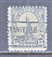 U.S. 566   Perf. 11   *   IND.  STATE   1922-25  Issue - Precancels