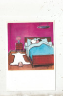 Cp,illustrateur Signée TETSU , 3 E Série ,humour ,les Grands Humoristes,tirage 500 Ex.,  Vierge - Illustratori & Fotografie