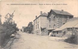 ¤¤   -   FOURNEAUX-les-MINES   - Route De Guéret Et Les Fours à Chaux   -   ¤¤ - France